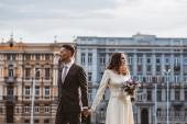 D&E vestuvės rudenį