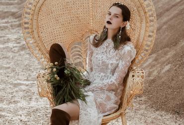 Fotosesija su Aidos Kapočiūtės suknele